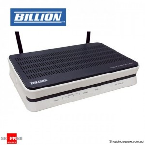 BILLION BIPAC 7800NXL Billion ADSL2+ W/less 11n 4 Giga Port Modem/Router/WAN/USB w/SPI/QoS