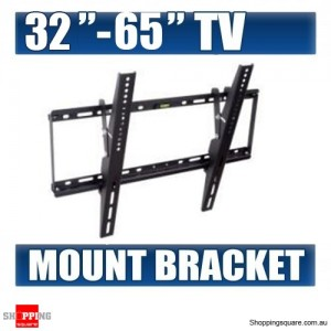 32'' - 65'' LCD LED Plasma Flat Tilt TV Wall Mount Bracket