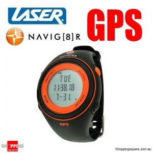 Laser Navig8r S20 Sports Watch GPS Tracking - Orange