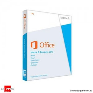 Microsoft office Home and Business 2013 32/64 bit 1 user