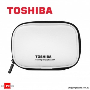 Toshiba Portable Hard Drive Pouch for 2.5 Portable External Hard Drive