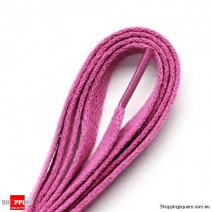 One Pair 120cm Shoelaces #13 Pink Colour