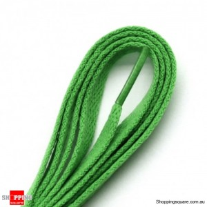 One Pair 120cm Shoelaces #19 Dark Green Colour