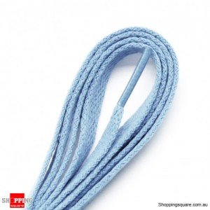 One Pair 120cm Shoelaces #23 Light Blue Colour