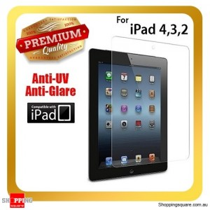 Premium Clear Anti Scratch IPAD screen protector for iPad 4th, 3th and 2nd Gen and Retina Display