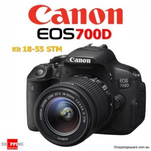 Canon EOS 700D Kit 18-55MM IS STM Digital Camera DSLR