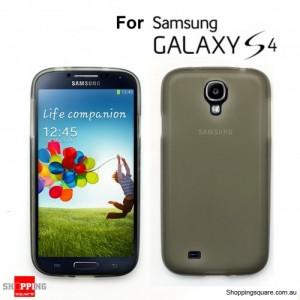 Samsung Galaxy S4 i9500 Crystal Case Gray Colour