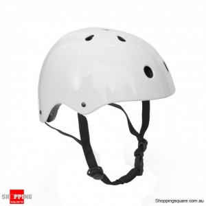 Bike Helmet Gloss White Colour M Size