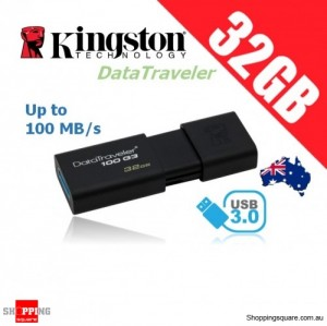 Kingston DataTraveler 100 G3 32GB USB Flash Drive (DT100G3)