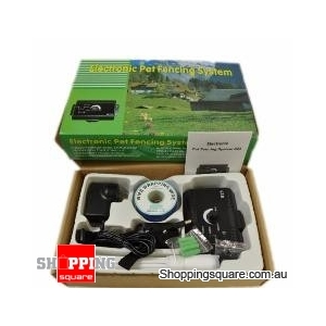 Dog Safety Wireless Electronic Training Collar Fencing System