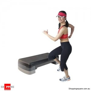 Aerobic Gym Workout Fitness Exercise Bench Step-  3- Level Stack Design