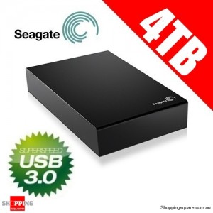 Seagate Expansion 4TB USB 3.0 Desktop External Hard Drive STBV4000300