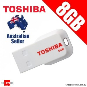 Toshiba 8GB Mini USB 2.0 Flash Drive PA5003A-1M8R