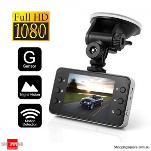 Crash Camera HD 1080P Car DVR Video Camera Recorder