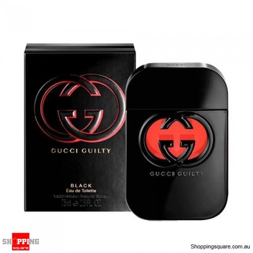 Gucci Guilty Black 75ml Edt Pour Femme Women Perfume Online
