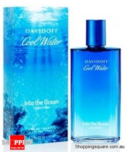 Cool Water Into The Ocean 125ml EDT by Davidoff Men Perfume