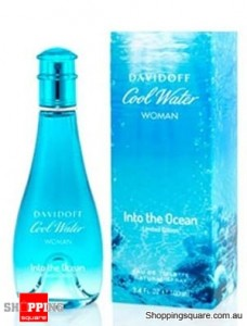 Cool Water Into The Ocean 100ml EDT by Davidoff Women Perfume