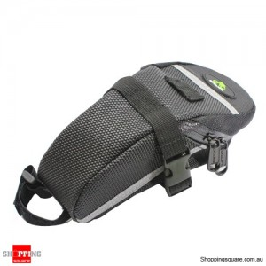 Bicycle Saddle Pouch Back Seat Bag Black Colour