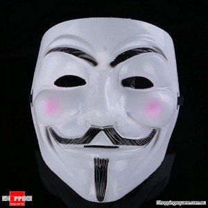 V for Vendetta Halloween Face Mask