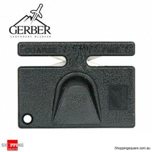 Gerber Hunting Diamond Pocket Sharpener Knife 2 Stage Course Fine