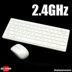 2.4G Wireless mini Keyboard and Mouse Combo Set