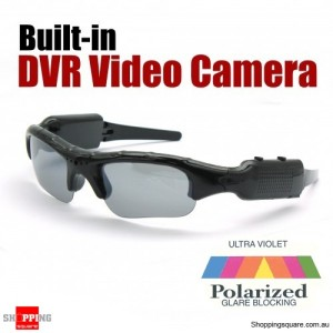 Mini DVR Video Camera SunGlasses - Polarized Glasses