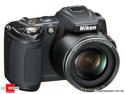 Nikon Coolpix L120 Black Digital Camera