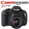 Canon EOS 600D (KISSx5) DSLR Camera KIT with 18-55mm Lens IS