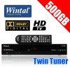 Wintal Twin Tuner PVR HD Personal Video Recorder with 500GB HDD