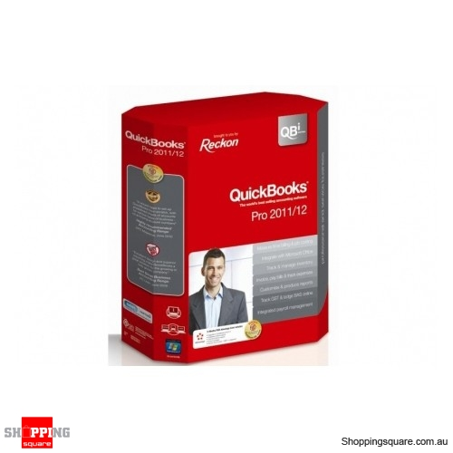 Reckon Quickbooks Pro 2011/12 QB Series Full Version - Shoppingsquare  Australia
