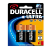 Duracell Ultra Size C Alkaline Battery Pack of 2