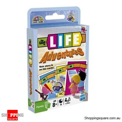 hasbro the game of life adventures card game online shopping shopping square com au online