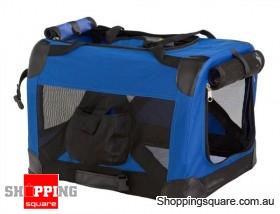 60cm Deluxe Portable Pet Carrier - Foldable