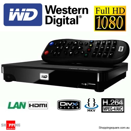 Western Digital 1TB TV Live Hub Media Centre