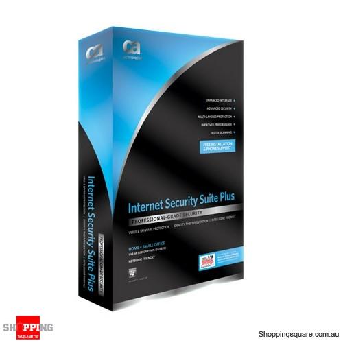 Computer Associates CA Internet Security Suite Plus 1 USER