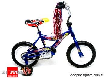 "12"" (30cm) Steel Frame Eva Tire Bike Blue Bicycle"
