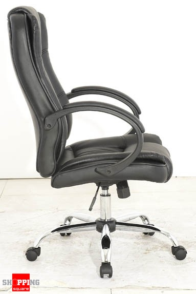 high back adjustable pu leather executive office chair with arm