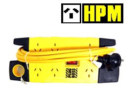 HPM 6 Way Heavy Duty Surge protection Power Board