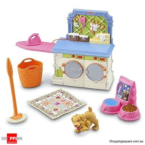 Fisher price loving family laundry room online shopping shopping square com au online for Fisher price loving family living room