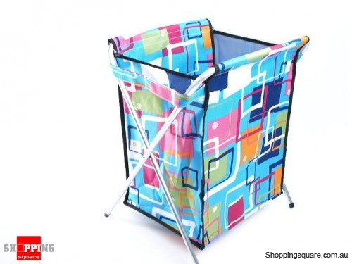 Foldable Styling Aluminium Pipe Laundry Hamper With Lid