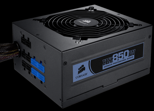 Corsair HX-850 ATX 850W Power Supply, 80 PLUS Silver Certified