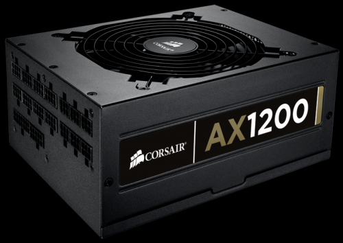 Corsair AX-1200 ATX 1200W Power Supply, 80 PLUS Gold Certified