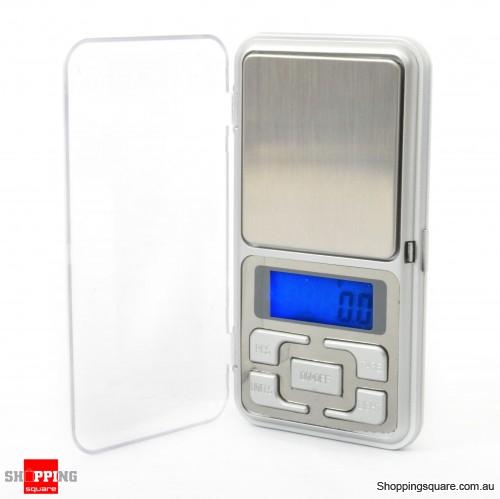 500g x 0.1g Digital Pocket Jewelry Gold Portable Scale