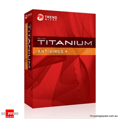 Trend Micro Titanium Smart Surfing Anitvirus+ for PC 2011 1 User 12months