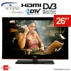 Vivo 26 inch (66cm) LCD HD TV with DVD Player, Built in HD tuner, HDMI