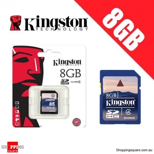 Kingston 8GB SD SDHC Memory Card Class 4 High Speed