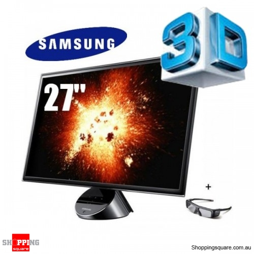 Samsung S27A750D 27'' 3D Full HD 16:9 LED Monitor, HDMI, Display port ...