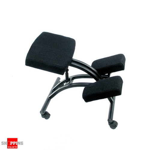 Ergonomic Adjustable Office Kneeling Chair- Black