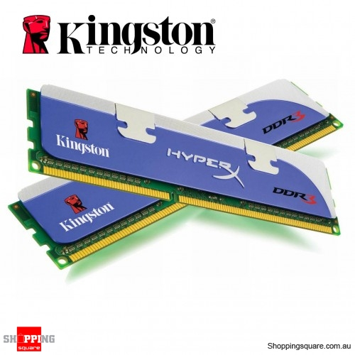 Kingston 6GB Kit HyperX 1333Mhz DDR3 7-8-7-20 @ 1 65v XMP Desktop Memory  RAM Kit (KHX1333C7D3K3/6GX) - Shoppingsquare Australia