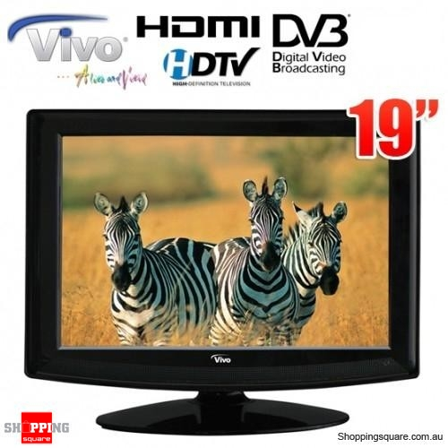 Vivo 18.5 inch (48cm) LED HD TV with built-in HD Tuner,HDMI,12V Adaptor